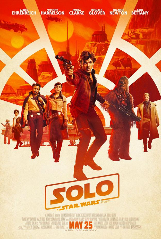Probablemente uno de los carteles más molones de Han Solo: Una Historia de Star Wars