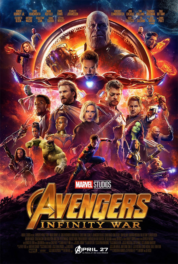 Cartel final de Vengadores: Infinity War