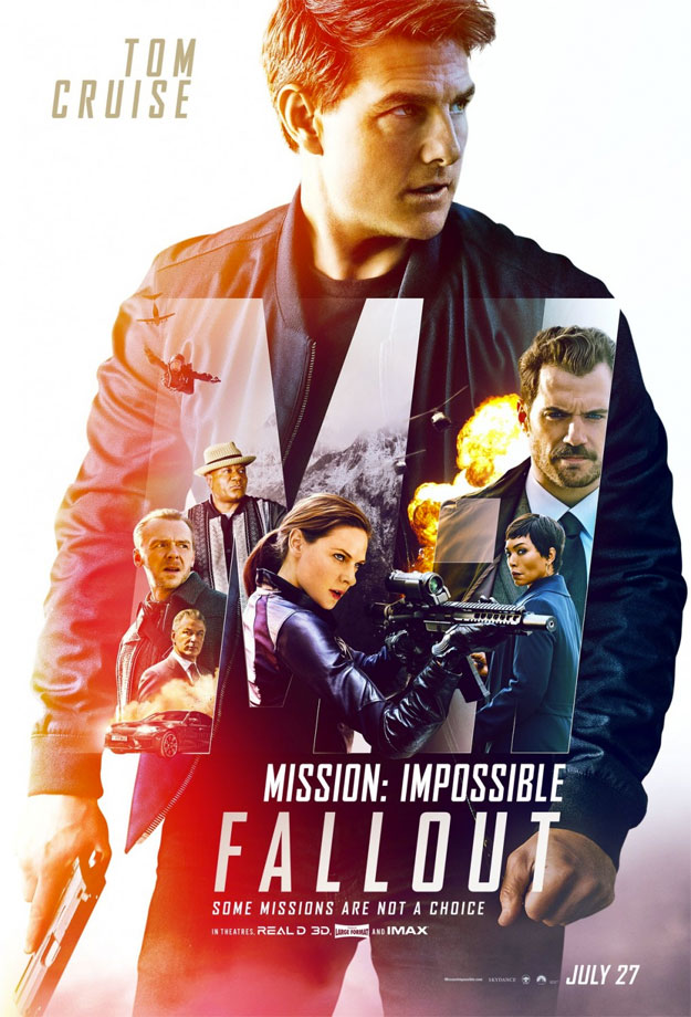 Cartel colorista de Mission: Impossible - Fallout