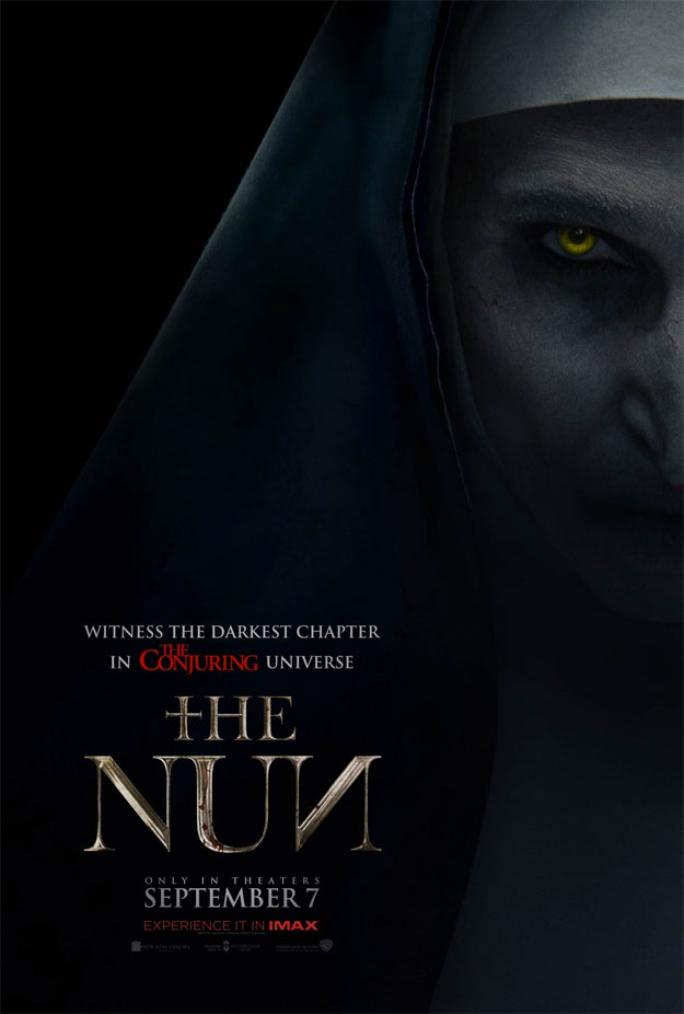 El primer cartel de The Nun