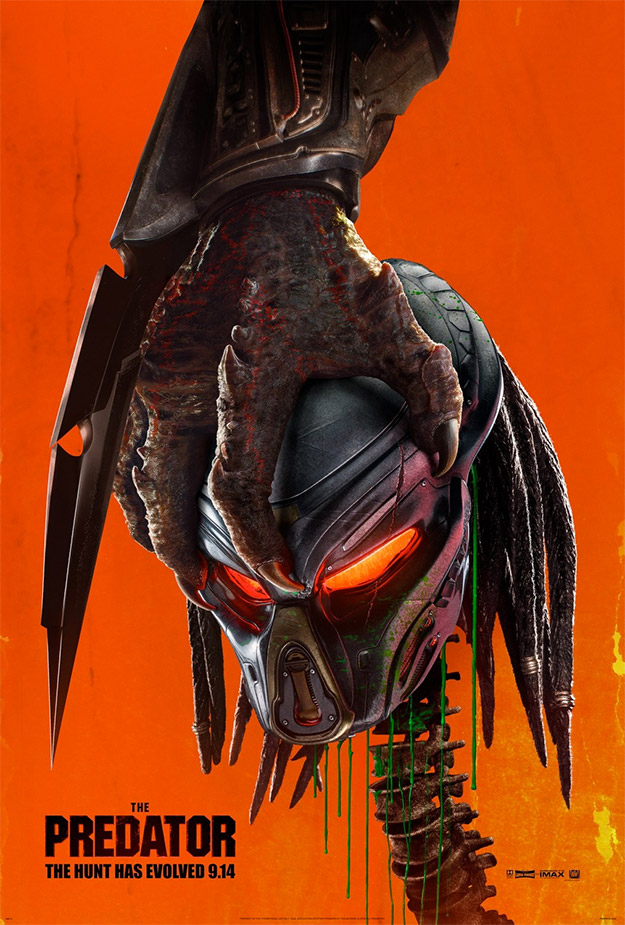 Cartel genial de The Predator