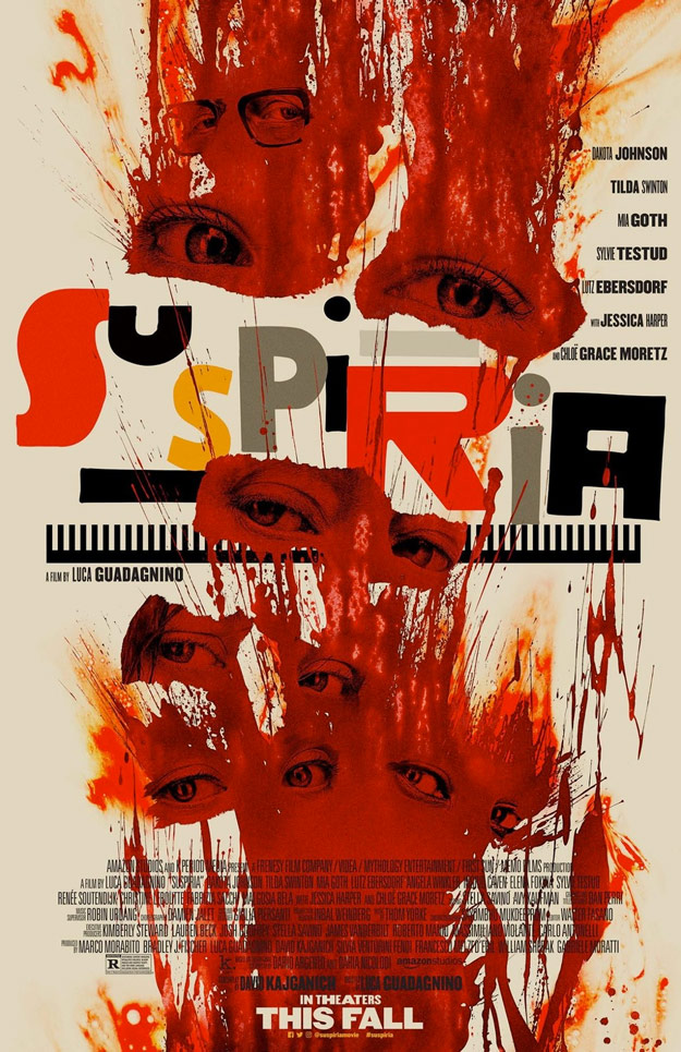 Cartel final de Suspiria