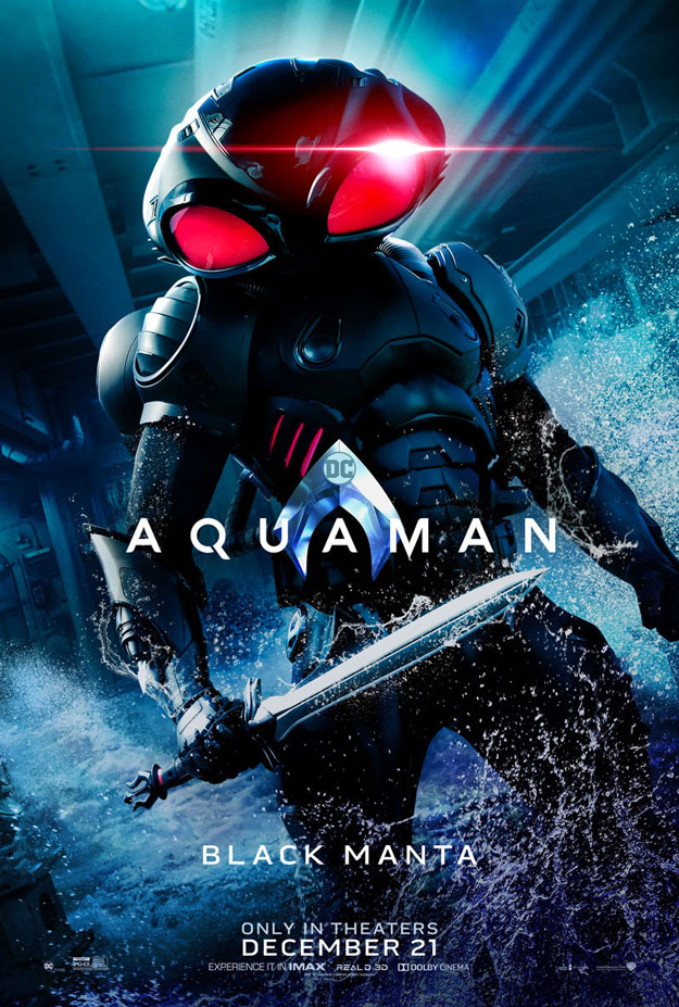 Black Manta y King Nereus