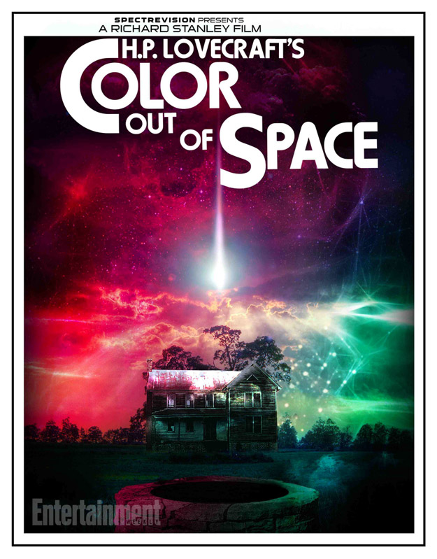 Cartel de Color Out of Space presentado por SpectreVision en... 2015