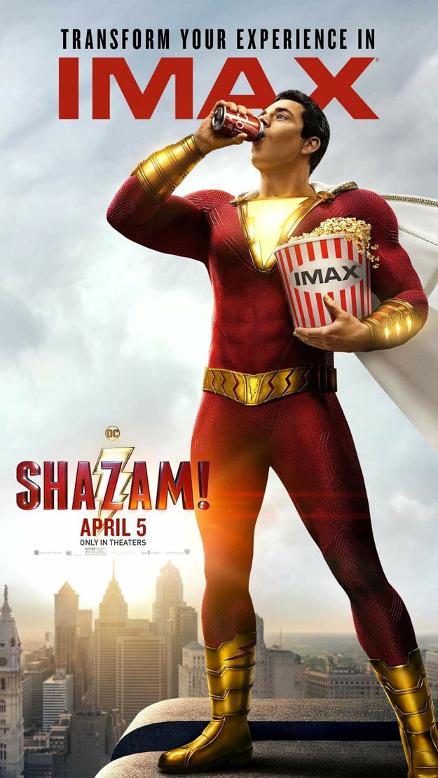 Shazam! es el rey del product placement