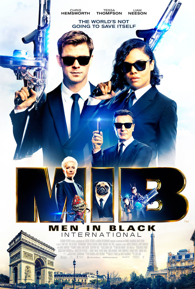 Un nuevo cartel de Men in Black: International, bueno