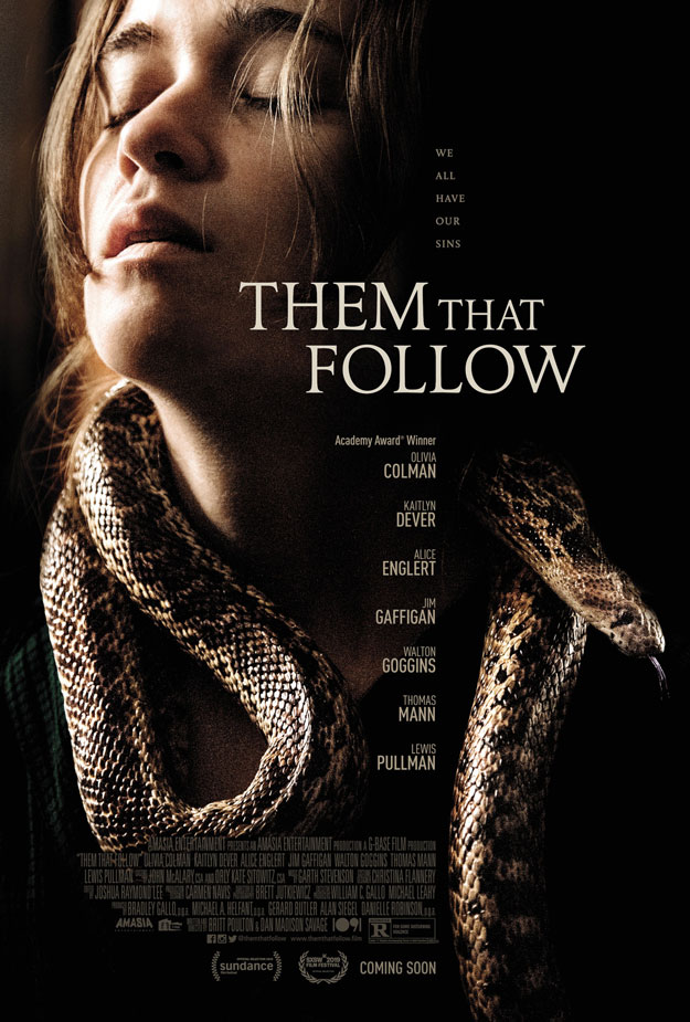 Cartel de Them that Follow... buen reparto