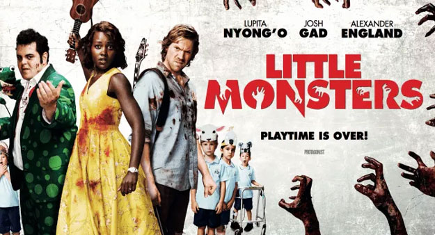 Cartel de Little Monsters, otra de las delicias de Sitges 2019
