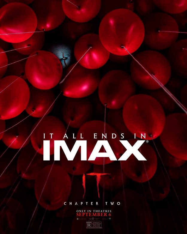 IT: Chapter Two... para salas IMAX