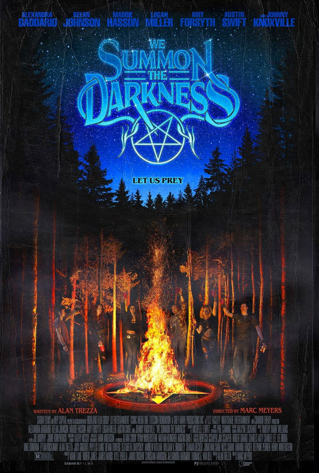 Nuevo cartel de We Summon the Darkness