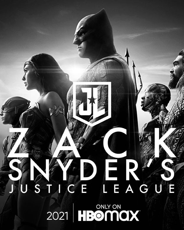Otro cartel de Zack Snyder's Justice League