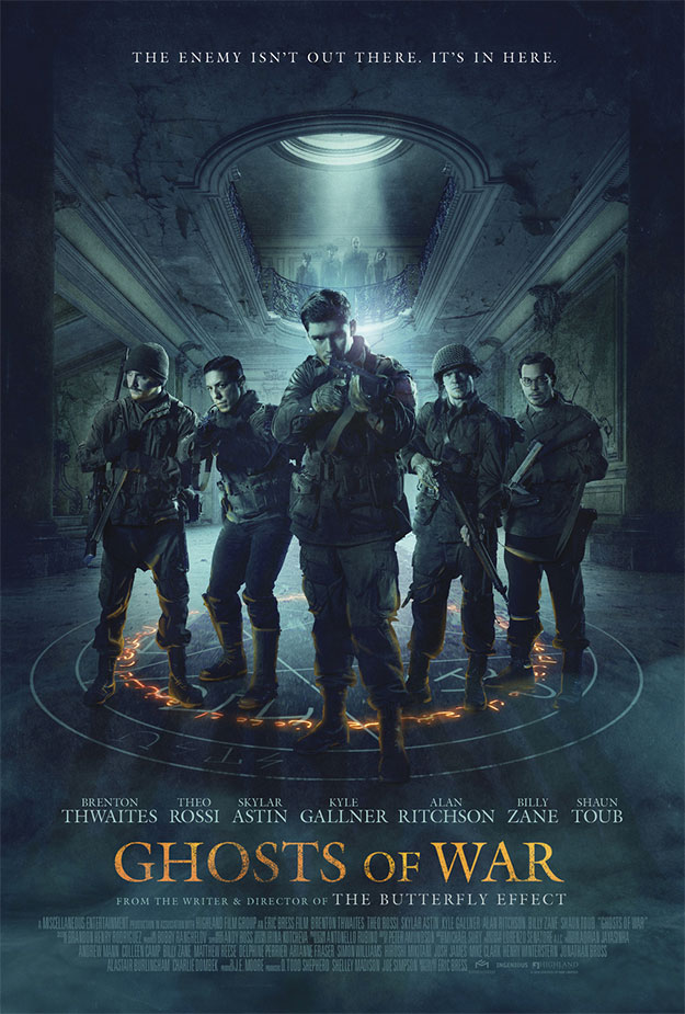 Cartel de Ghost of Wars