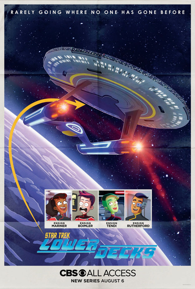 "Vamos a reir con ""Star Trek: Lower Decks"""