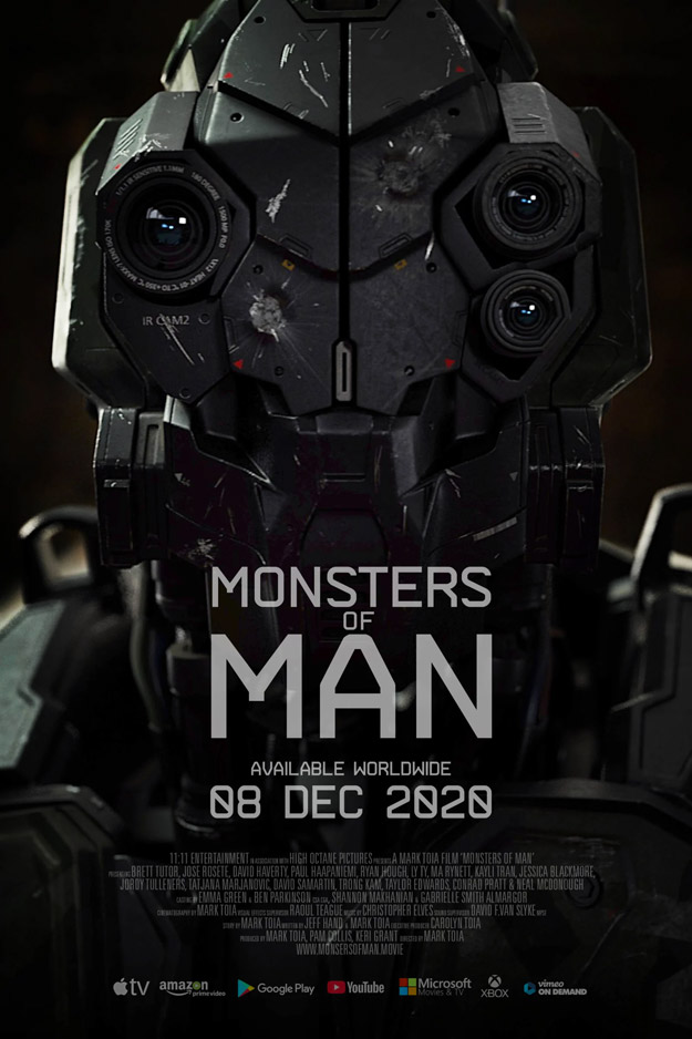 Cartel de Monsters of Man