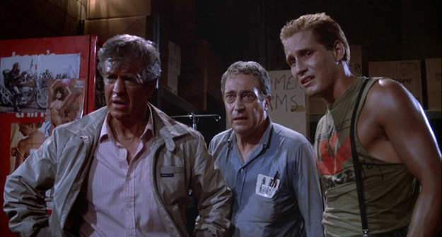 Clu Gulager, James Karen y Thom Mathews... que narices habéis hecho