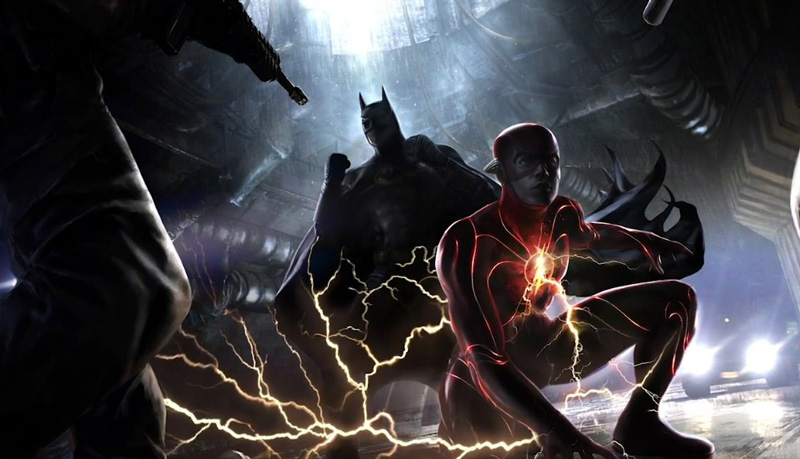 Concept art de The Flash