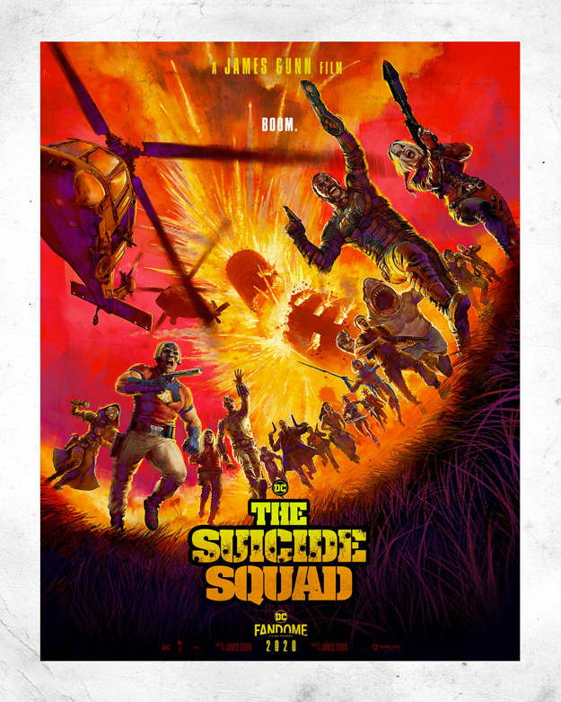 Fabuloso cartel de The Suicide Squad