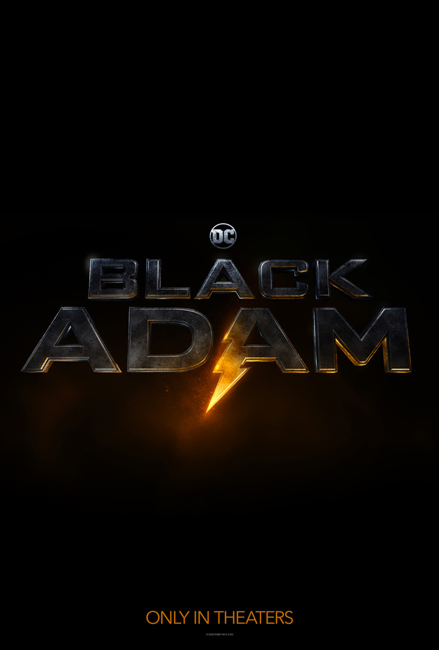 Primer cartel de Black Adam