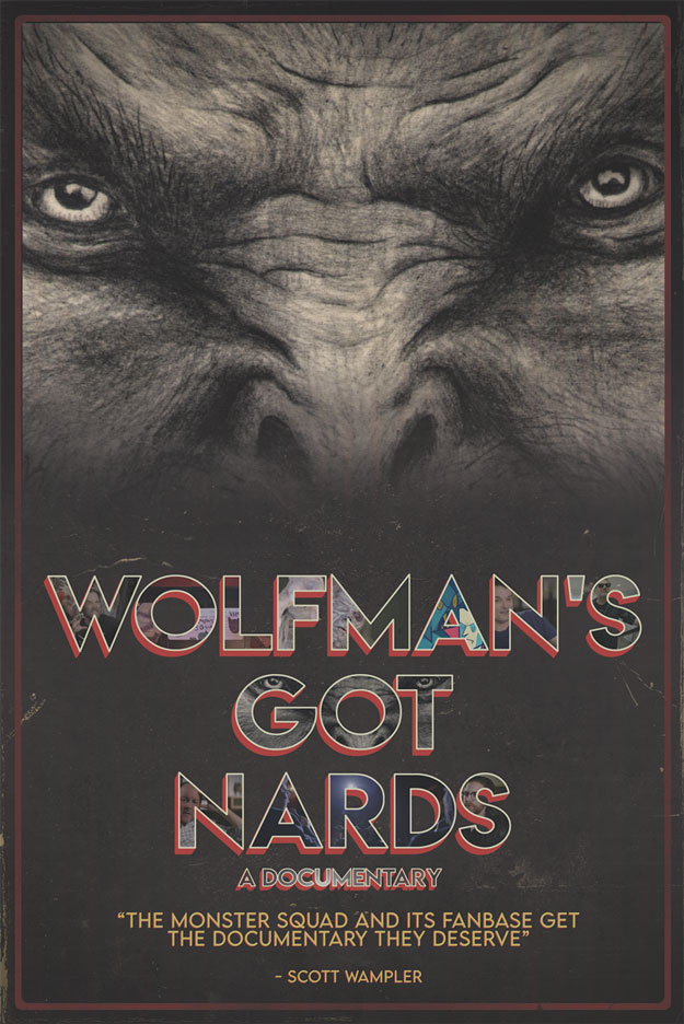 Cartel de Wolfman's Got Nards