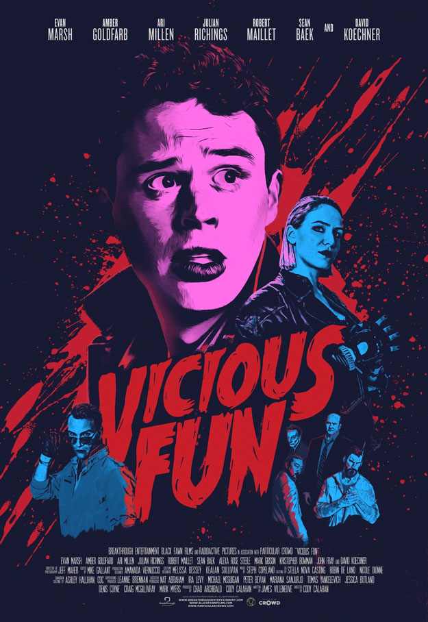 Genial cartel de Vicious Fun