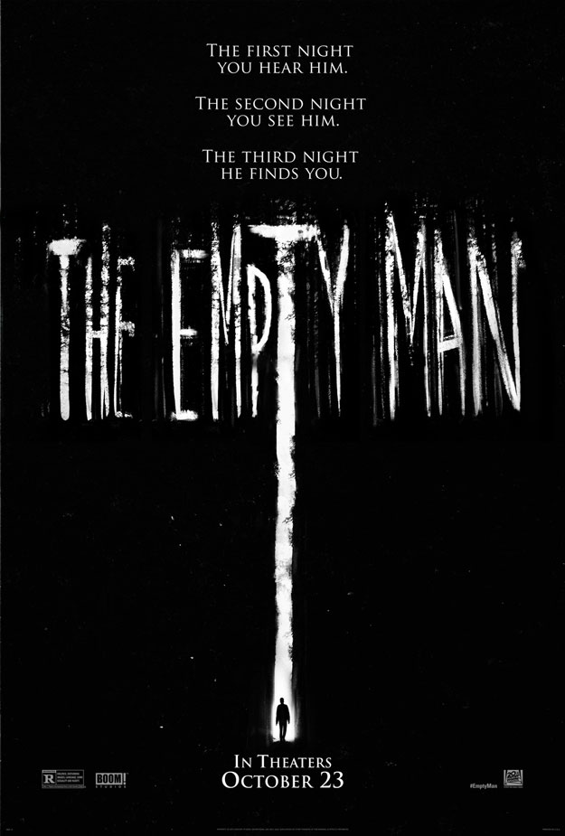 Cartel de The Empty Man... in The Empty Cinema