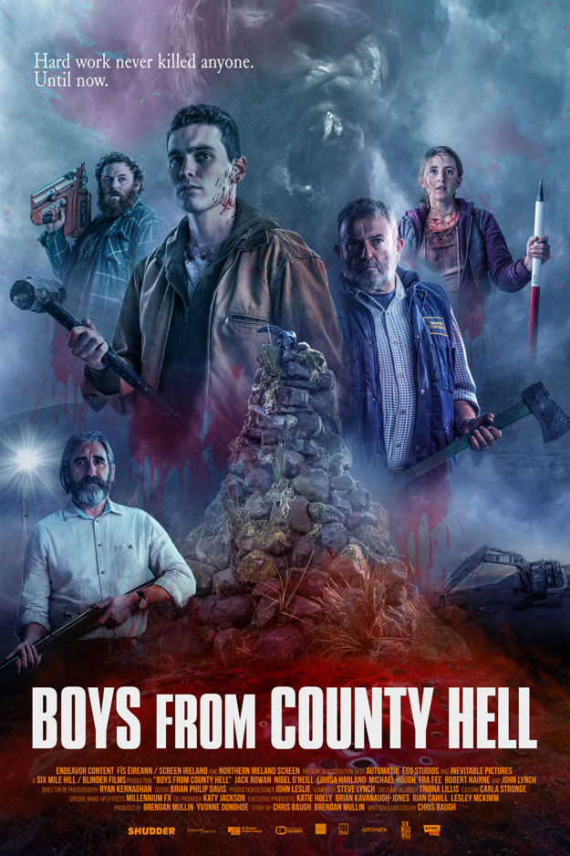Cartel de Boys From County Hell