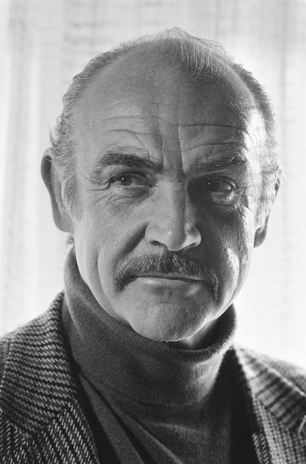 Connery... Sean Connery