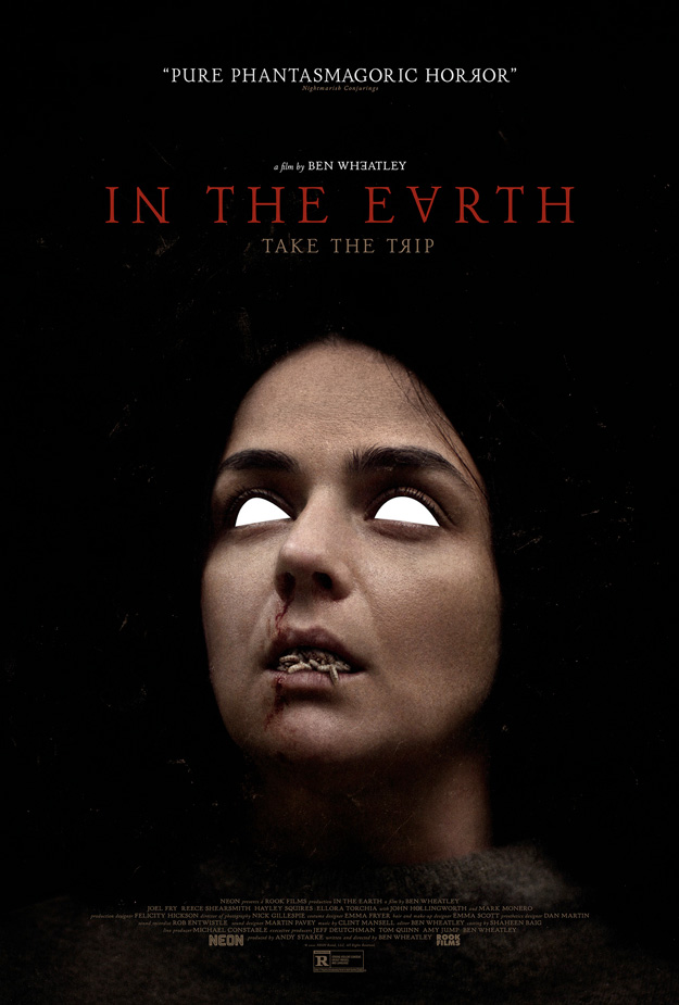 Cuatro carteles molones de In the Earth