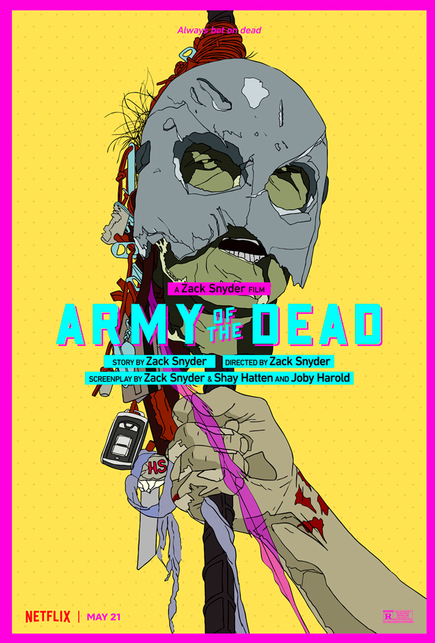 Un par de nuevos carteles de Army of the Dead de Zack Snyder