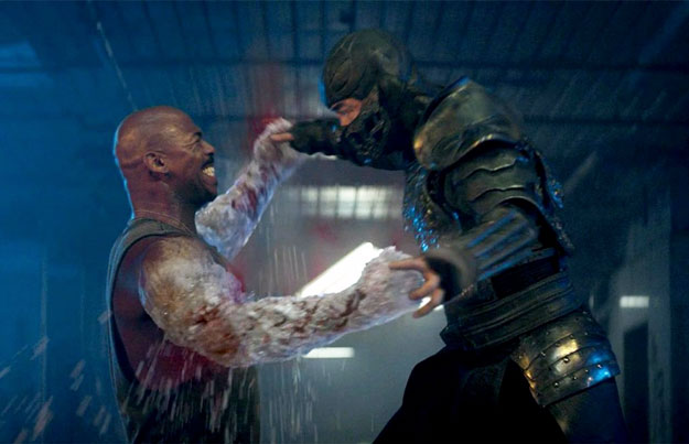Por fatalities que no sea... Jax vs. Sub Zero
