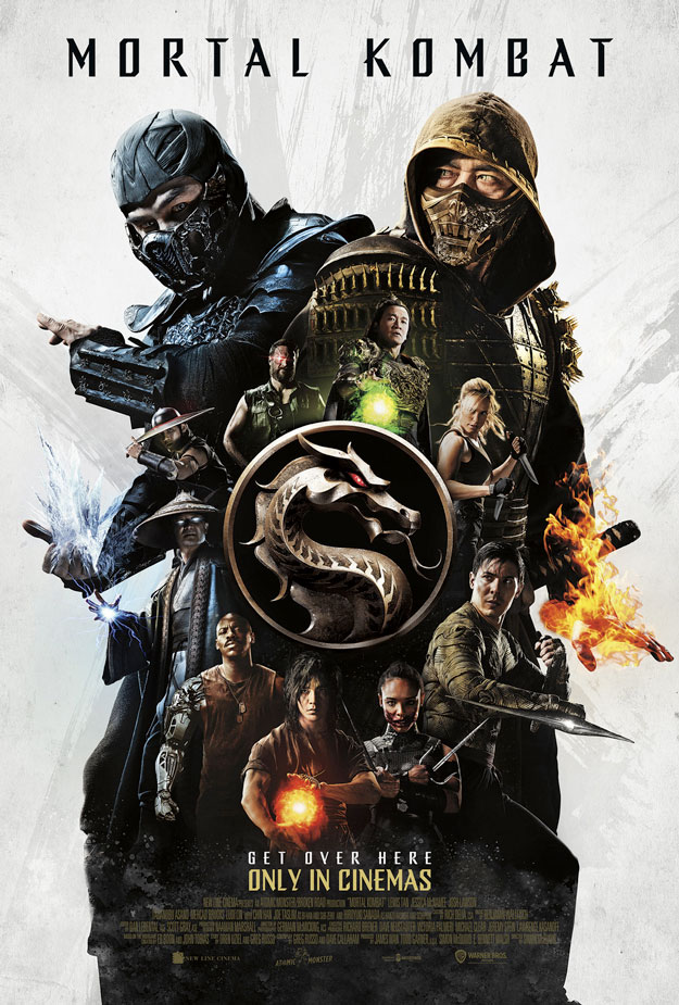 Póster final de Mortal Kombat