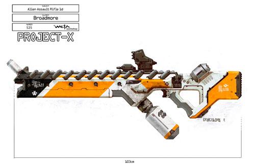 Arte conceptual de District 9 - Una de las armas alien