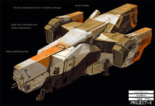 Arte conceptual de District 9 - La nave controladora de la estación