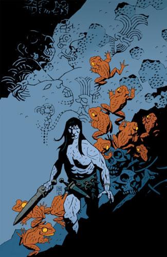 Conan por Mike Mignola