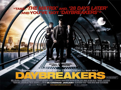 Nuevo póster de Daybreakers