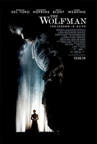 Otro póster más de The Wolfman