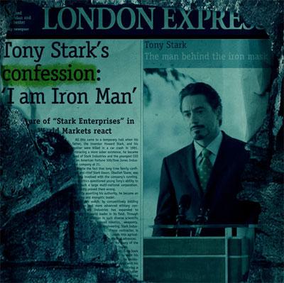 Una nueva pista para Iron Man 2