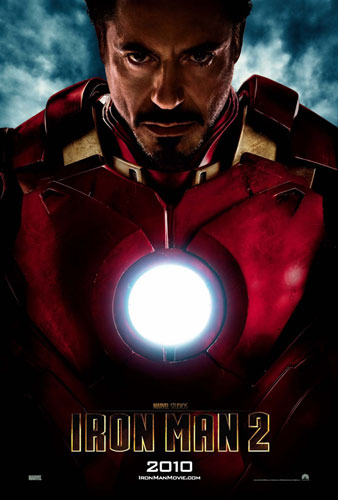 Otro cartel de Iron Man 2... Tony Stark!
