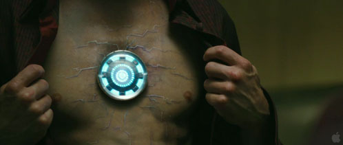 Un momento importante del trailer de Iron Man 2