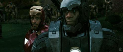 Otro momento importante del trailer de Iron Man 2