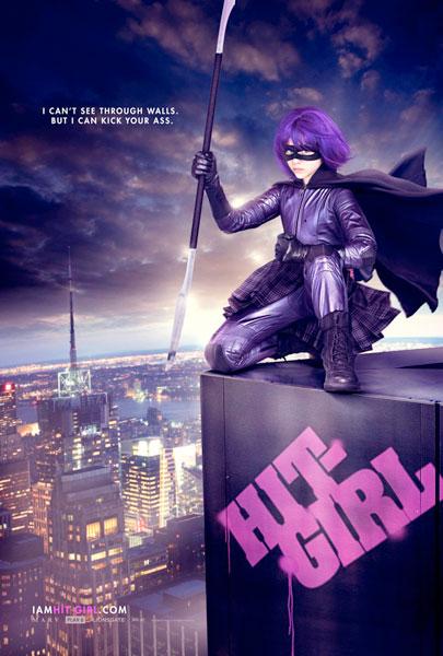 Nuevo póster de Kick-Ass... Hit-Girl!