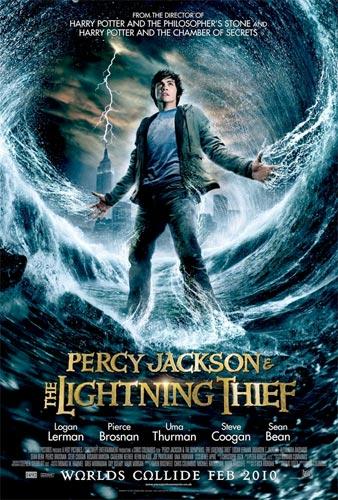 Póster internacional de Percy Jackson and the Lightning Thief