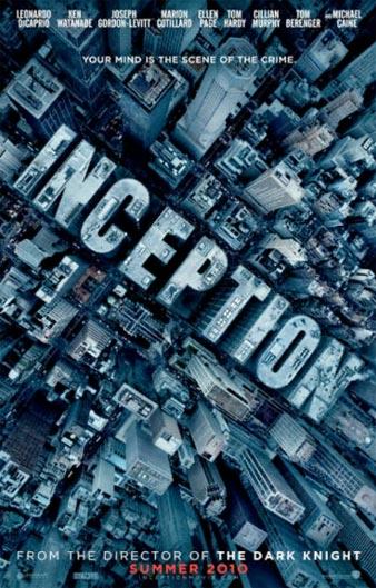 Nuevo cartel de Origen (Inception)