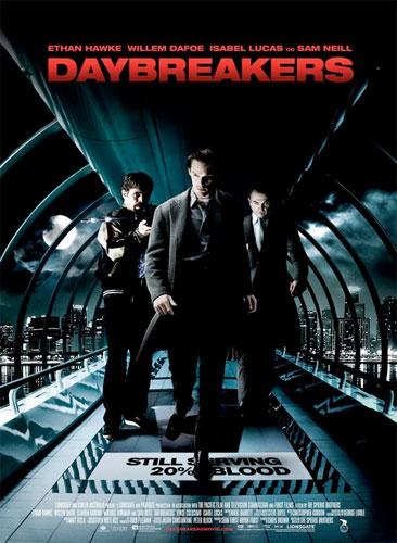 Nuevo póster de Daybreakers de los hermanos Spierig