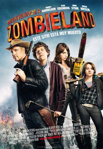 Cartel español de Bienvenidos a Zombieland