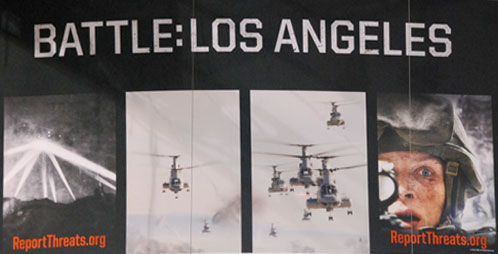 Banner de Battle: Los Angeles