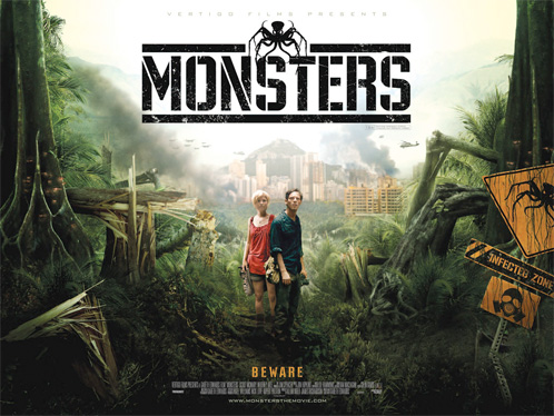 Nuevo cartel de Monsters de Gareth Edwards