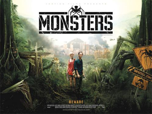 Nuevo cartel de Monsters de Gareth Edwards