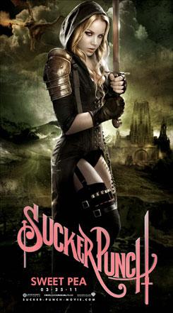 Primeros banners / pósters de Sucker Punch: Sweet Pea