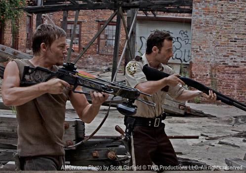 Daryl Dixon (Norman Reedus) y Rick Grimes (Andrew Lincoln)